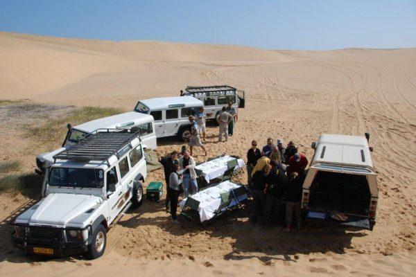 מסע קמפינג בנמיביה בנהיגה עצמית
