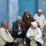 חבורת גברים בטיול מאורגן למרוקו