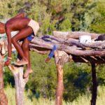 ילד מקומי בטיול מאורגן בנמיביה