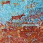 ציורים קדמוניים בטיול לזימבבואה